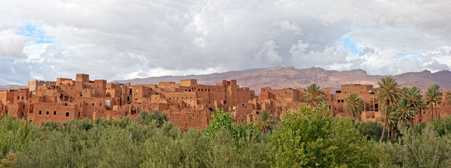 Morocco, thousand Kasbahs area