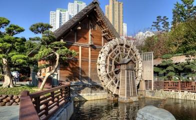 The Mill, Nan Lian Garden, Hong Kong.