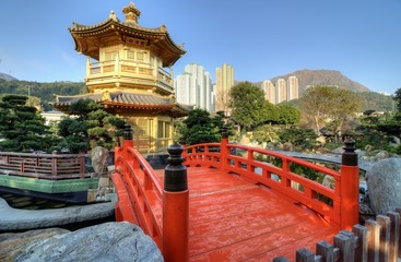 Nan Lian Garden Pavillion of Perfection, Kowloon, Hong Kong.