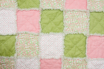 Baby quilt or blanket