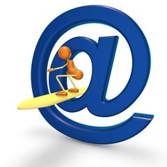 Joddi surf sur internet