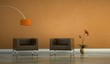 Wohndesign - Sesse orange