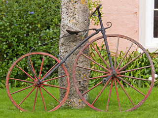 Nineteenth century bicycle