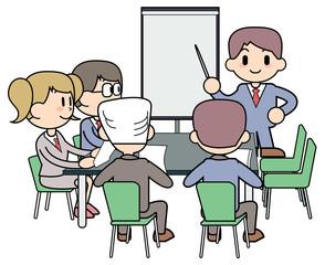 シンプル-会議