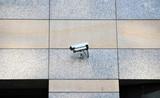 CCTV Camera on Fassade poster