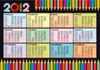 Calendario 2012 mat2