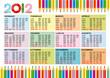 Calendario 2012 mat3