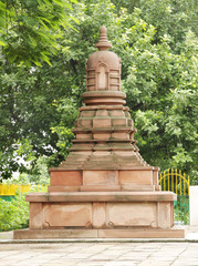 A miniature stupa, Sarnath