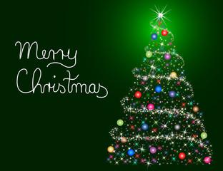 Weihnachtsgruß Merry Christmas