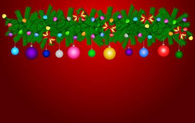 Weihnachtsmotiv Grußkarte