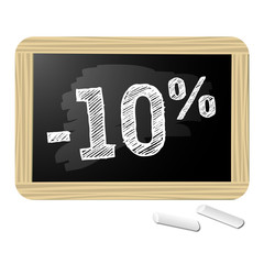 Ardoise promotions -10%