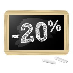 Ardoise promotions -20%