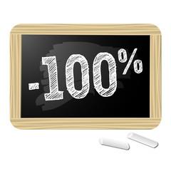 Ardoise promotions -100%