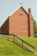 Catholic Church on a Hill