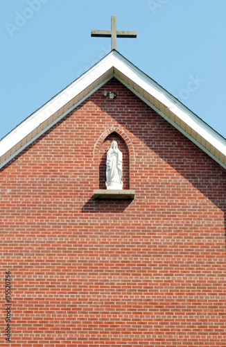 Virgin Mary Religious Statue