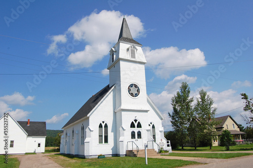 canadian white church