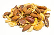 Mixed nuts isolated