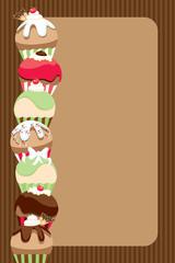 Cupcake Invite/Menu