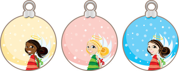 Christmas Angel Gift Tags