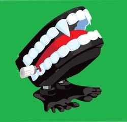 Vampire Chattering Teeth
