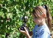 vignes vendanges raisins enfant