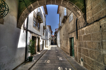 Guimarães Street, Portugal