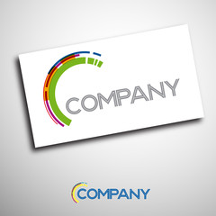 Logo enterprise business # Vector