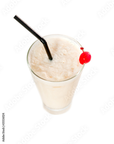 frozen banana daiquiri drink cocktail