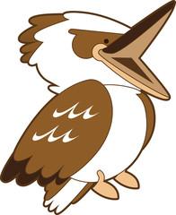 Laughing Kookaburra Cartoon
