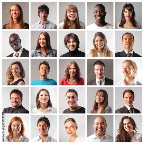 Fototapete Personen - Person - Poster - Aufkleber