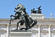 Beautiful statue in Vienna