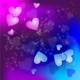 Liebe | Herzen | Hintergrund