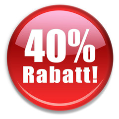 Button 40 % Rabatt