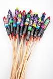Fototapety Fireworks, rockets