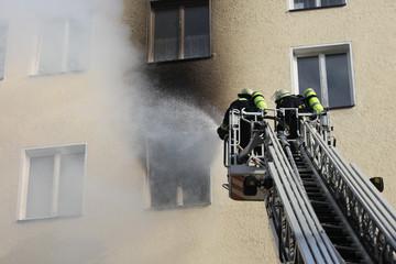 20110816 - Zimmerbrand Georg-Strobel-Strasse Nuernberg