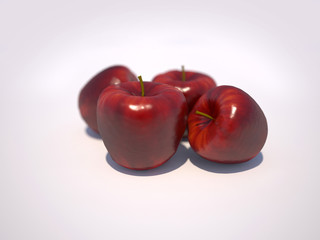 Red apple - Manzana roja