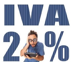 Aumento dell'IVA al 21%