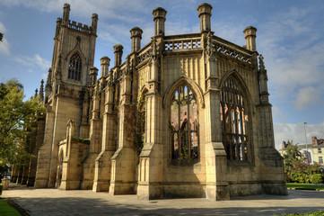 Church of St Luke, Liverpool, England.