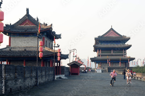 Deurstickers Xian Xian, China