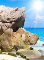 Rocky Beach Ancient Rocks