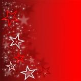 Sterne | Rot | Hintergrund