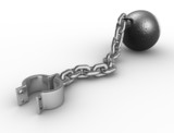 Ball with chain