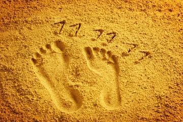 Füsse im Sand 11.11.11