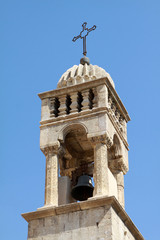 The belfry of Mor Behnam Church, Mardin.