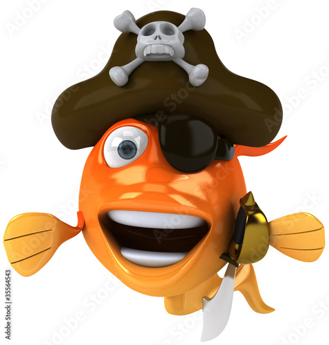 Poisson pirate