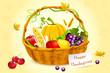 Basket Full of Thanksgiving Vegetable