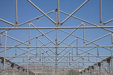 Gewächshaus Dachkonstruktion
