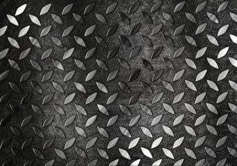 diamont plate metal background