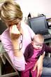 mère bébé travail domicile