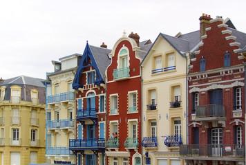 Häuser in Mers les Bains